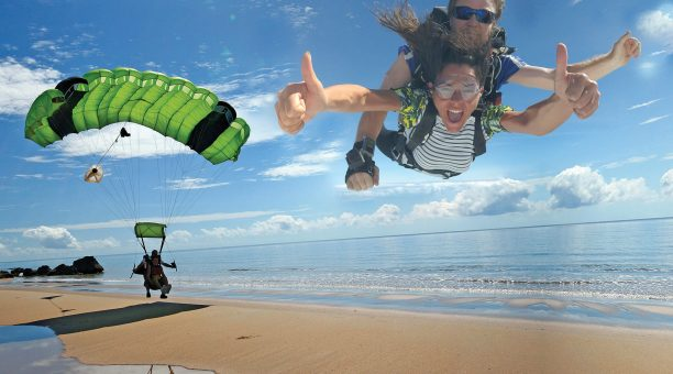 凱恩斯高空跳伞