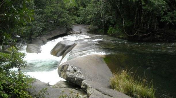 Babinda Boulders, North Queensland Australia